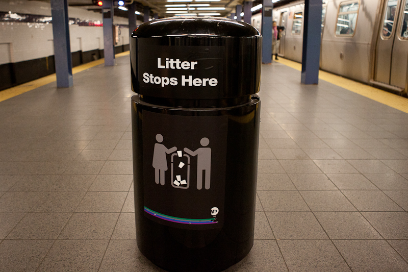The MTA Is Going to Steal More of Our Trash Cans