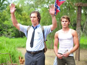 McConaughey and Efron in The Paperboy.