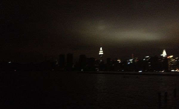 No lights, no glow. (Ian Lamb)