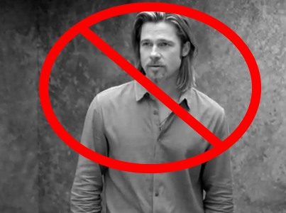No One Wants to Look at Brad Pitt Selling Perfume (Videos)