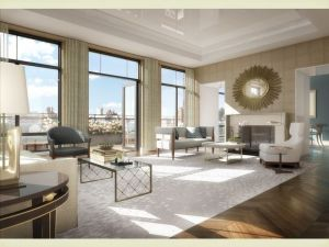 The garmento's new living room.