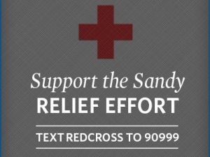 """Support the Sandy RELIEF EFFORT. Paid for by Romney for President, Inc."" (Photo: Facebook)"