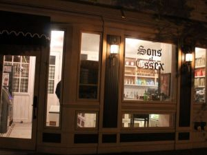A depiction of Sons of Essex with windows neither boarded nor taped.