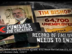 Tim Bishop's record of failure apparently needs to end. (Photo: YouTube)