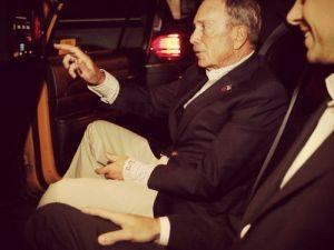 Mayor Bloomberg and Mr. Dorsey. (Photo: nycgov.tumblr.com)