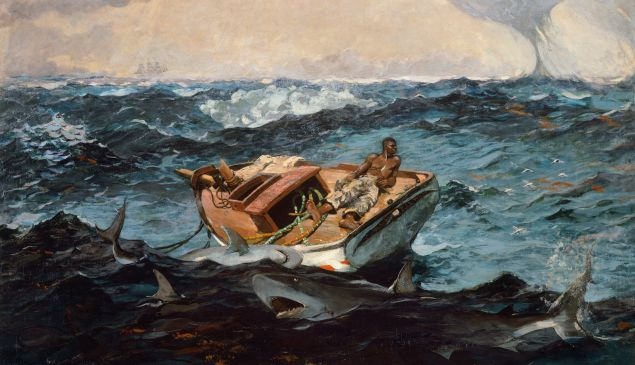 'The Gulf Stream' (1899) by Homer, at the Metropolitan Museum of Art. (DeAgostini/Getty Images)
