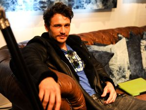James Franco: also plays guitar (Getty Images)