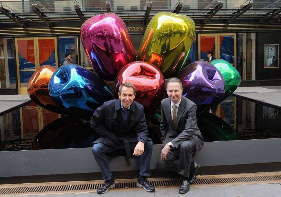 Brett Gorvy Leaves Christie's to Pursue Gallery Life, Jeff Koons Made a Snowboard