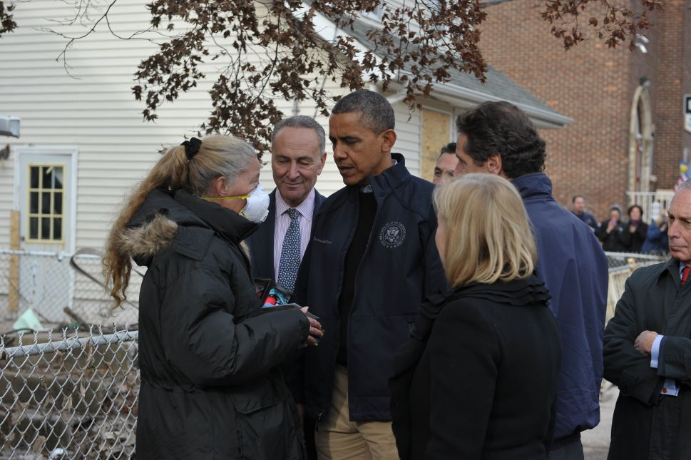 Government's Sandy Response Earns Mix of Applause and Criticism as Obama Visits Staten Island