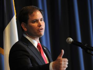 Former Tea Party favorite Marco Rubio is now the candidate of the GOP establishment. (Photo: Getty Images)