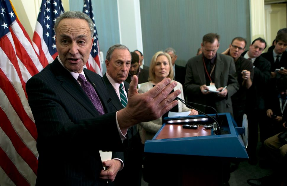 Chuck Schumer Promises Push for Sandy Aid Will Include Storm Protection Projects