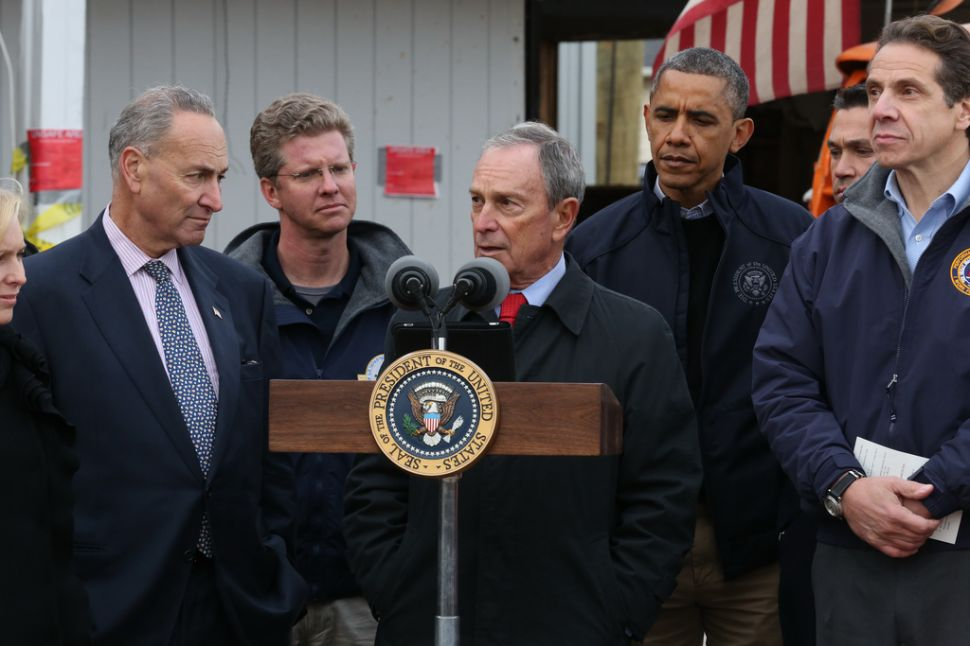 Sandy Will Cost New York an Estimated $19 B., Mayor Wants Feds to Cover Half