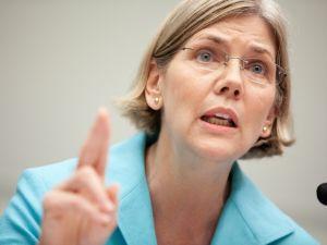 Elizabeth Warren. (Photo by Brendan Hoffman/Getty Images)