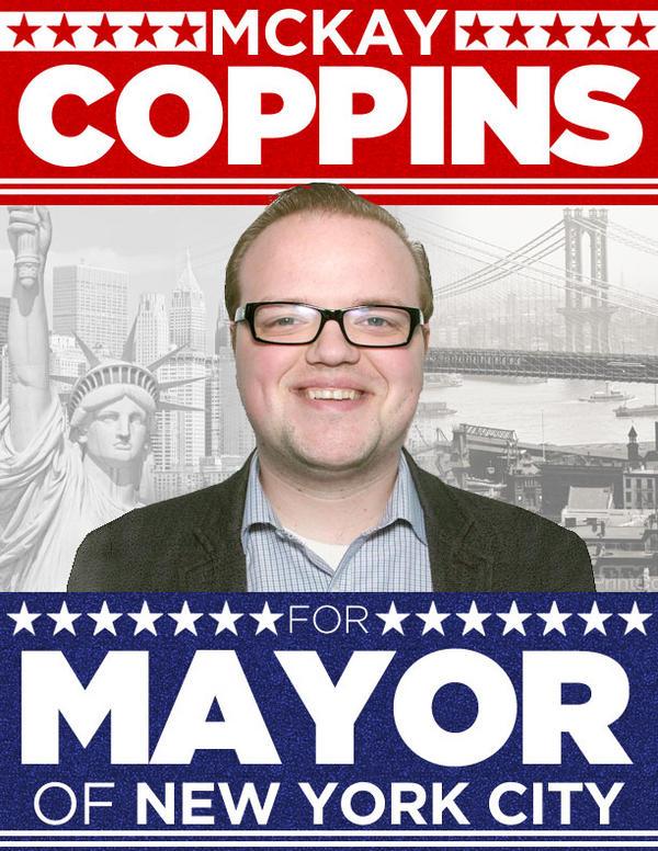 BuzzFeed's McKay Coppins, Future Mayor of New York City?