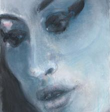 Amy-Blue by Marlene Dumas. (Courtesy Marlene Dumas/PA via the Guardian)