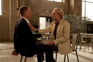 Craig and Bardem in Skyfall.
