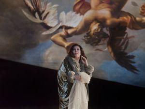Sondra Radvanovsky in 'Un Ballo in Maschera.' (Courtesy Met Opera)