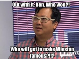 Ben Huh, CEO of I Can Has Cheezburger, on Bravo's new show 'LOLWork' (Bravo)