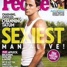 Channing Tatum, People's Sexiest Man Alive