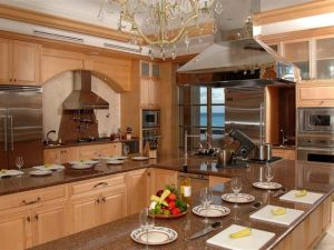 The distinction between home and professional kitchen is vanishing.