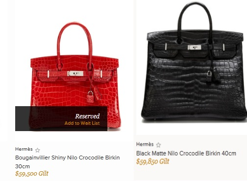 'Buyer's Gilt': Digital Luxury Site Selling Hermès Birkin Bags for Ungodly Amount of Money