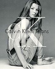 Kate Moss's spine.