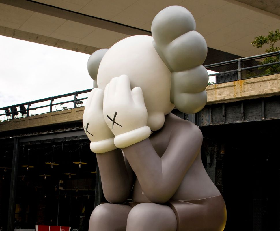 KAWS Brings His 'Companion' Over for Thanksgiving