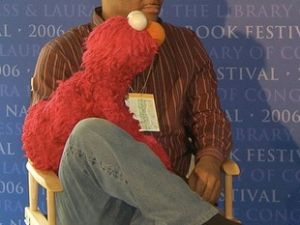 Kevin Clash and Elmo (Bill Thompson, Wikipedia)
