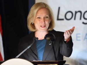 Senator Kirsten Gillibrand.