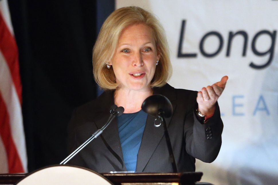Gillibrand Now Says She Won't Support Israel Boycott Bill 'In Its Current Form'