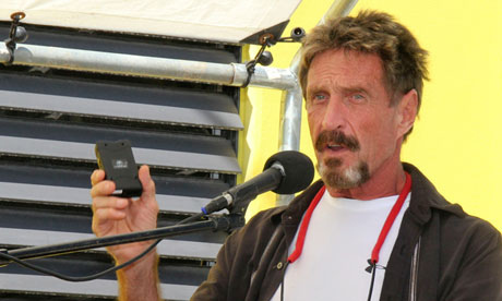 Our Monthly Check-In With John McAfee Reveals He's Building An 'Impossible to Hack' Internet
