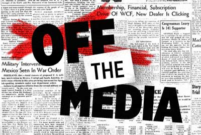 Out of Reach: If the Media Covers You, You'd Better Bring an Audience