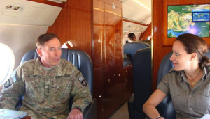 General Petreaus and his alleged mistress, Paula Broadwell. (Photo: Paulabroadwell.com)