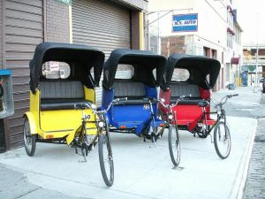 Council to pedicabs: fall in line!