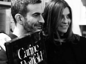 Ms. Roitfeld with Marc Jacobs. (Courtesy FIAF)