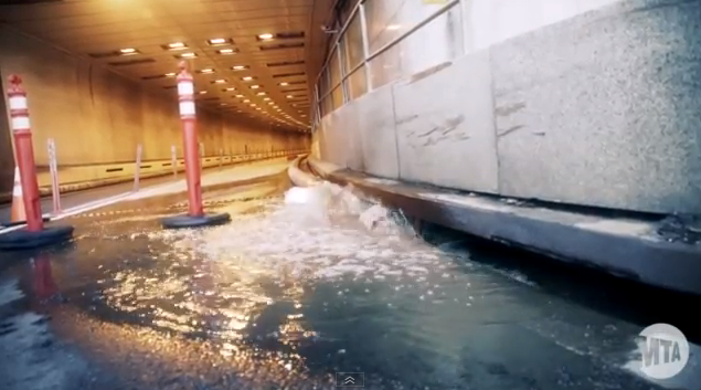 Inside the Flooded Hugh Carey Brooklyn-Battery Tunnel, and a New Genre of Ruin Porn
