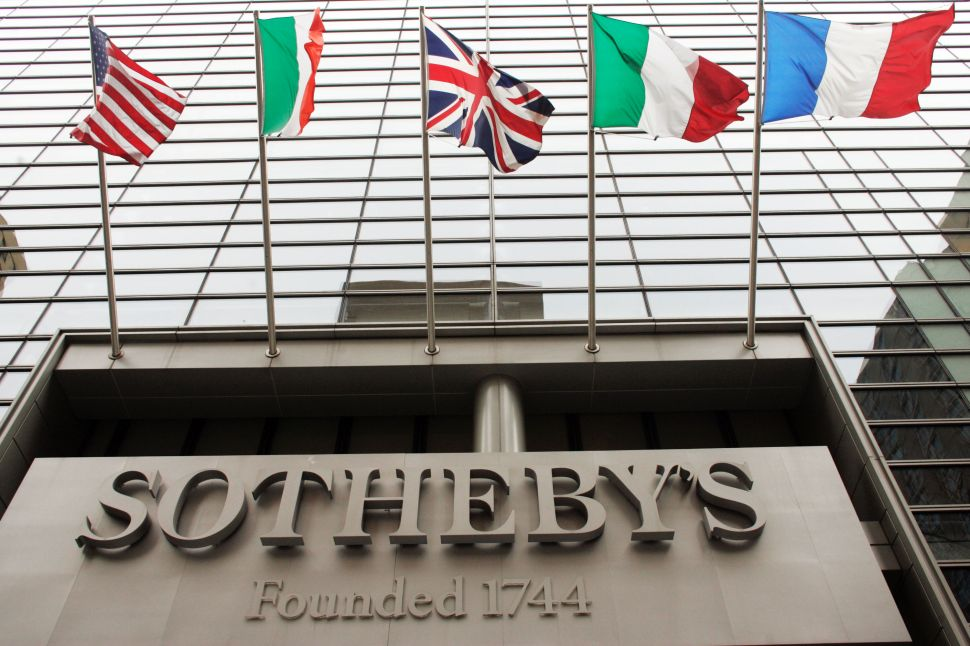 Sotheby's Loses $32.6 M. in 3rd Quarter, While Revenues Are Up