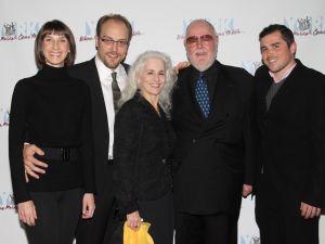 The Gemignani family. (Linda Lenzi/BroadwayWorld.com)