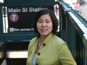 Congresswoman Grace Meng.