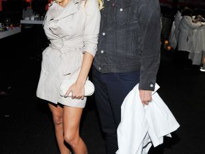 Pamela Anderson and LaChapelle in 2011. (Getty Images)