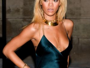 Rihanna, one album cycle and several hairstyles ago. (Getty Images)