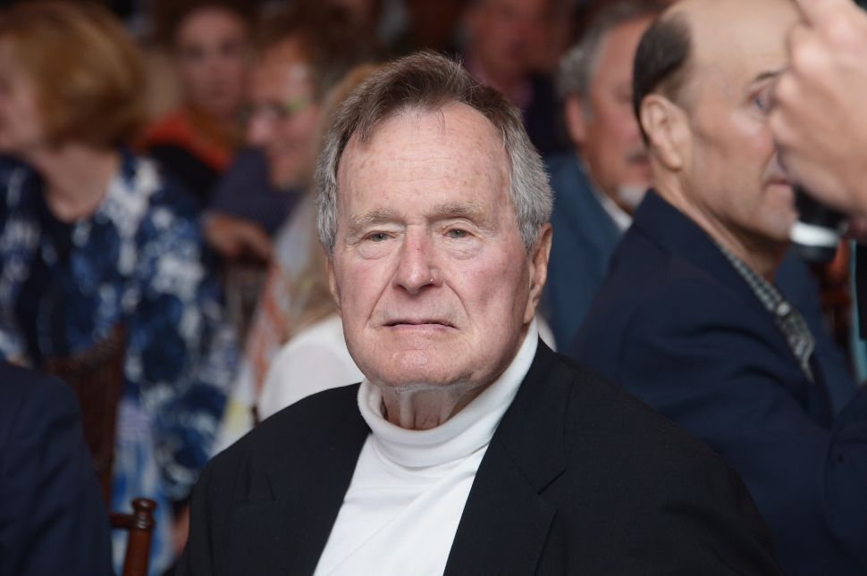 George H.W. Bush's Break With the NRA Ignored in Gun Group's Gift Shop
