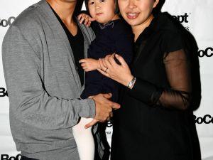 Shaokao Cheng, Cienna Cheng and Niki Cheng (Patrick McMullan)