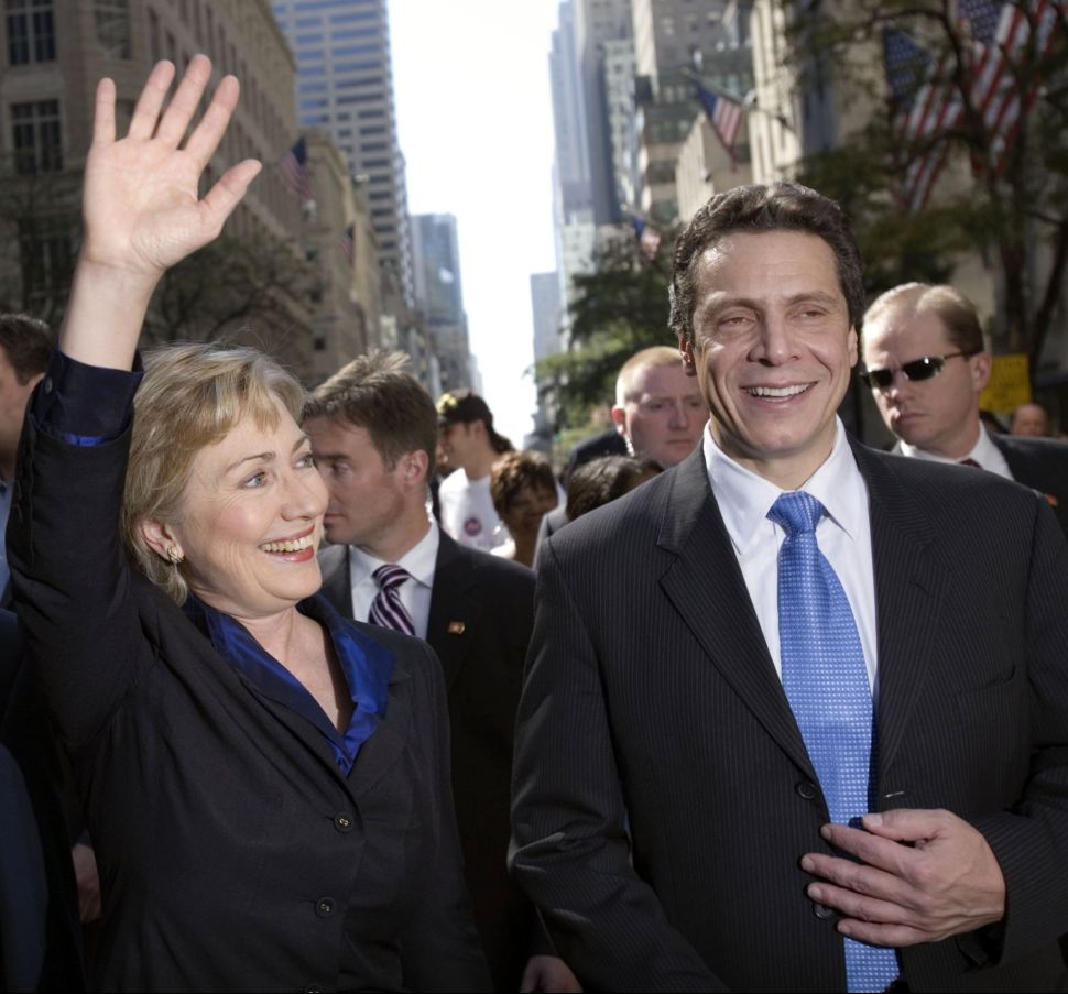 Governor Cuomo Won't Say Whether He'd Back Hillary For President