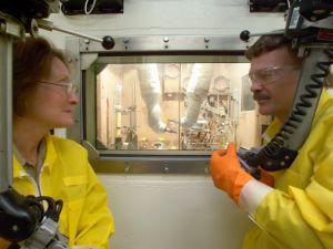Milking nuclear sludge (Oak Ridge National Laboratory)