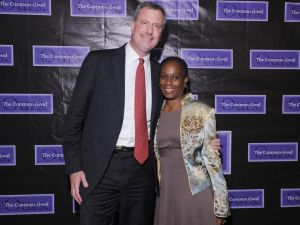 Bill de Balsio and Chirlane McCray. (Photo: Michael Loccisano/Getty Images)