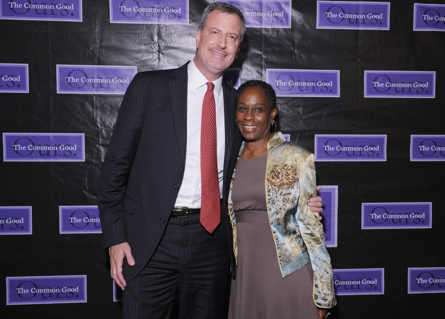 Bill de Blasio Names Wife Chair of the Mayor's Fund, Gabrielle Fialkoff Senior Adviser