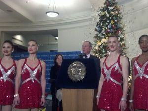Mayor Bloomberg's press conference today.