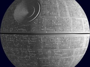 America's newest public works project. (Photo: Eye on Star Wars)
