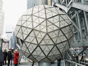 The 2013 Times Square New Year's Eve Ball (Photo: Getty)